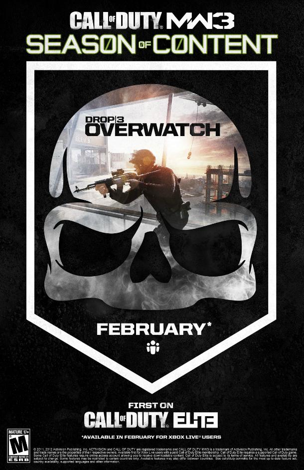 Call of Duty Modern Warfare 3: confermata la prossima mappa in arrivo tramite DLC