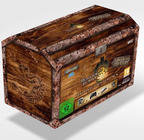 Monster Hunter 3, Game.co.uk mostra una limited edition