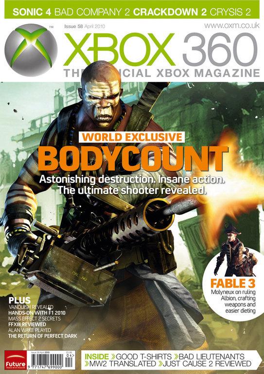 Bodycount, rivelato il nuovo FPS di Codemasters