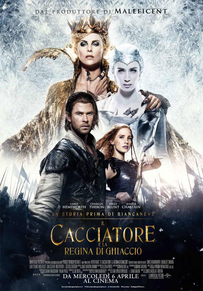 Il Cacciatore e la Regina di Ghiaccio: il nuovo poster ufficiale italiano