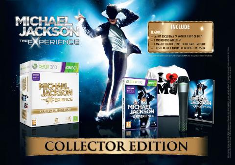 Michael Jackson: The Experience : una collector's edition per la versione Kinect