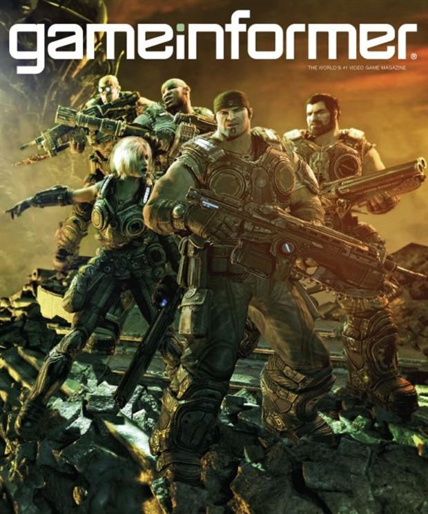 Gears of War 3: tutti i dettagli sul prossimo numero di GameInformer