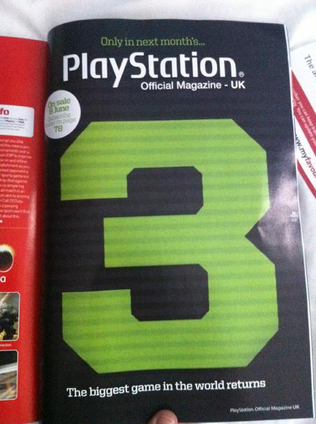 Teaser di Modern Warfare 3 sulla rivista Official PlayStation Magazine UK?