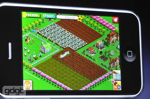Farmville in arrivo anche per iPhone