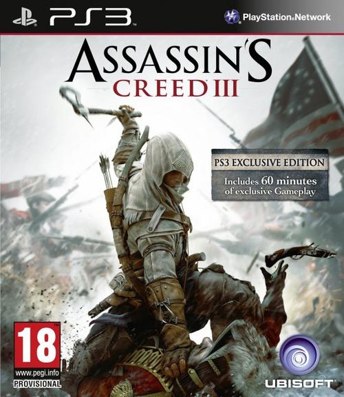 Assassin's Creed 3: la versione PlayStation 3 conterrà 60 minuti di gameplay esclusivo