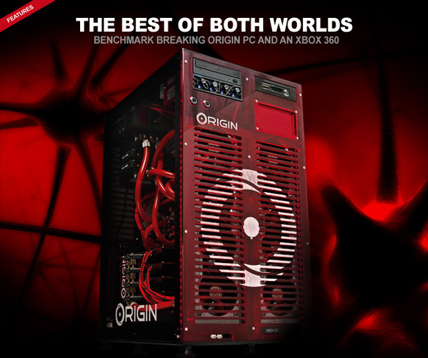 Origin PC propone il nuovo gaming pc incorporante anche una Xbox360!
