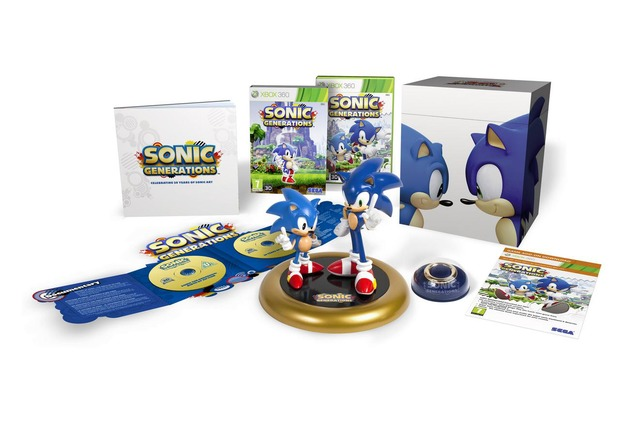 Sonic Generations: annunciata una collector's edition per il mercato europeo