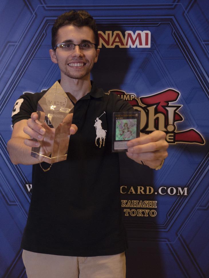 Lorenzo Santoni trionfa allo Yu-Gi-Oh! Championship Series di Rimini