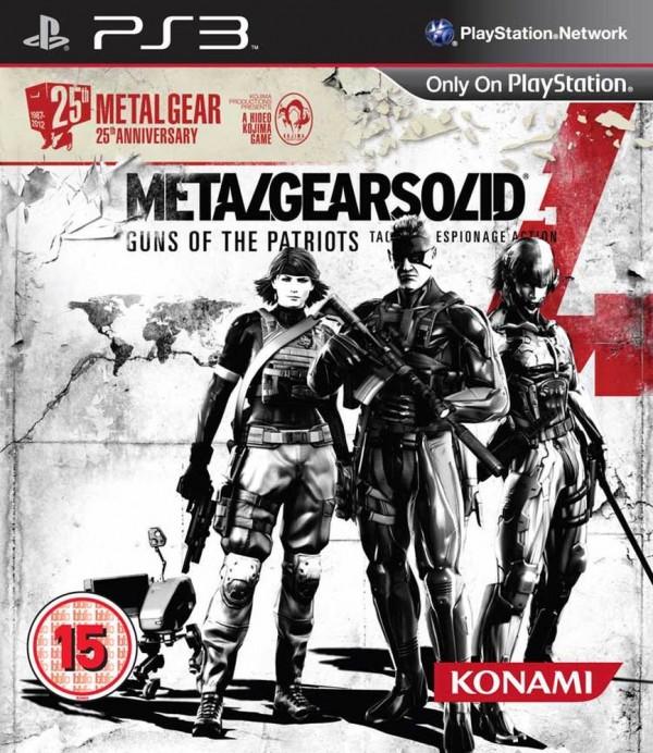 Confermata la Metal Gear Solid 4 25th Anniversary Edition
