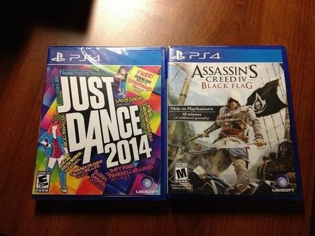 PlayStation 4: rilasciate immagini di tre giochi retail