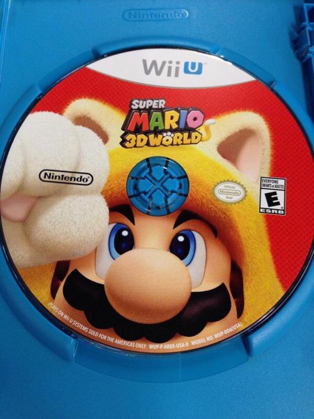 Super Mario 3D World: una foto per l'immagine del disco