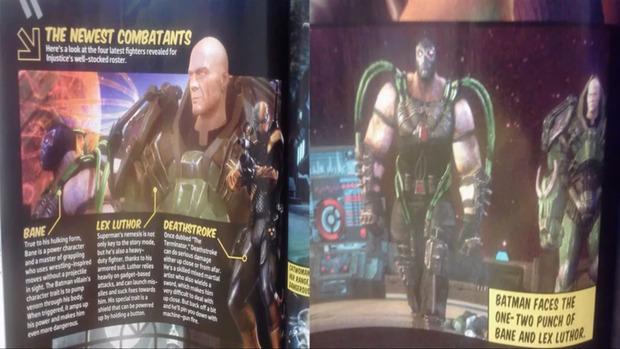 [Report] Injustice: Gods Among Us: confermati Bane e Lex Luthor