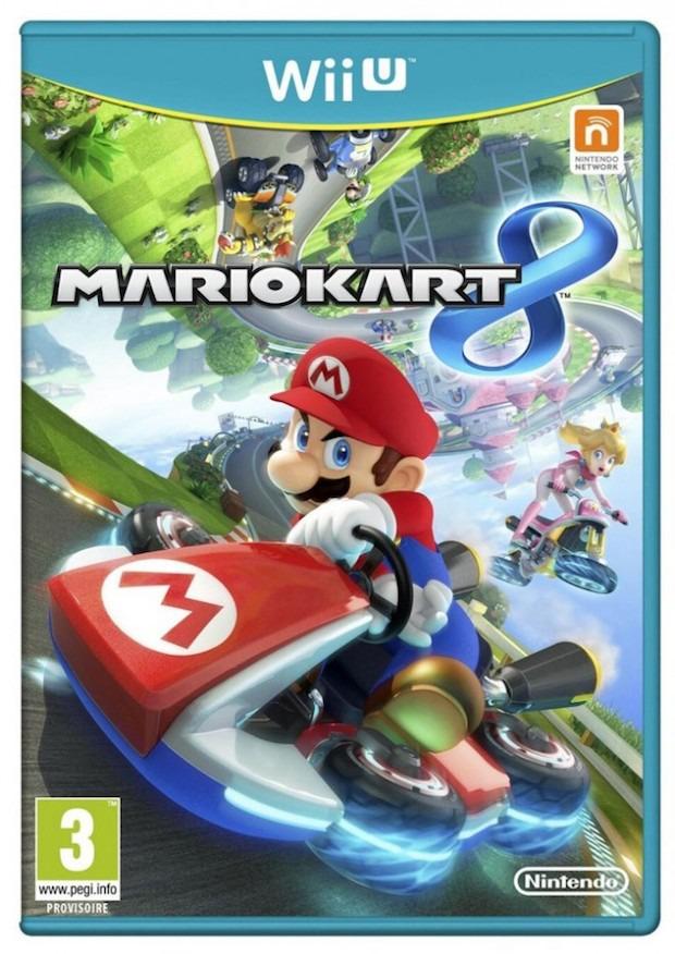 Mario Kart 8: svelata la copertina europea