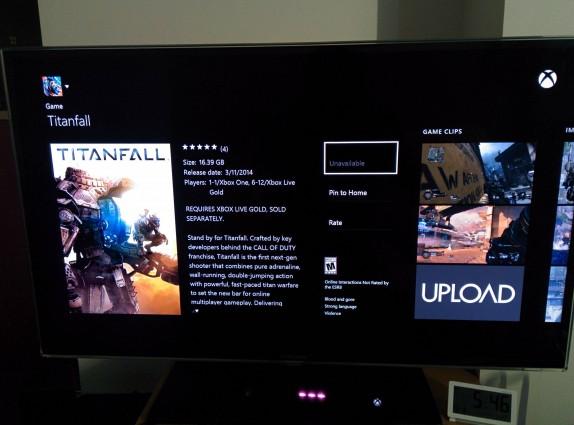 Titanfall: la versione digitale per Xbox One pesa 16.39 GB