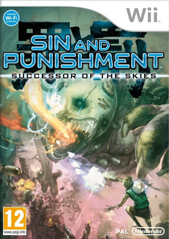 Sin and Punishment 2, boxart europea