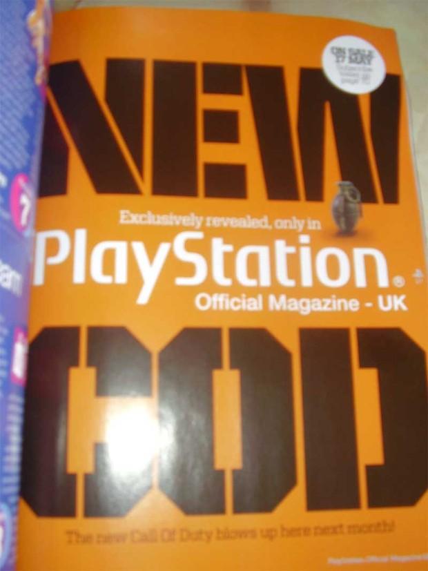 Call of Duty 7, mostrato nel prossimo numero di PlayStation Magazine UK