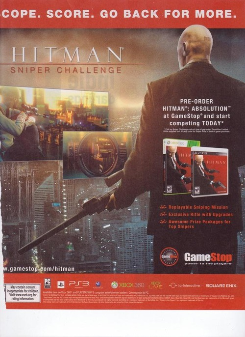 Hitman Absolution: confermato il pacchetto 'Sniper Challenge'