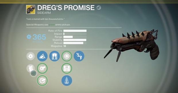 Destiny: la prima arma esotica del Casato dei Lupi è una sidearm