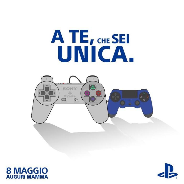 Buona Festa della Mamma da PlayStation