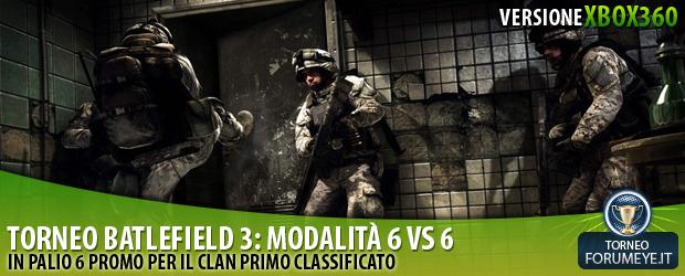 [360]Battlefield 3: Torneo 6 Vs 6