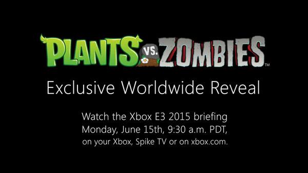 Plants vs. Zombies: un grande annuncio previsto durante la conferenza Microsoft dell'E3