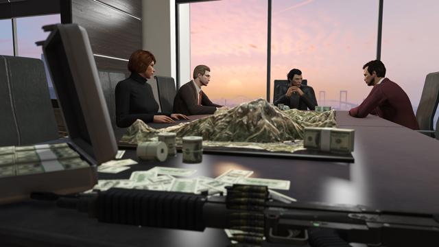 GTA Online: disponibile l'aggiornamento Fenomeni del Furto e della Finanza