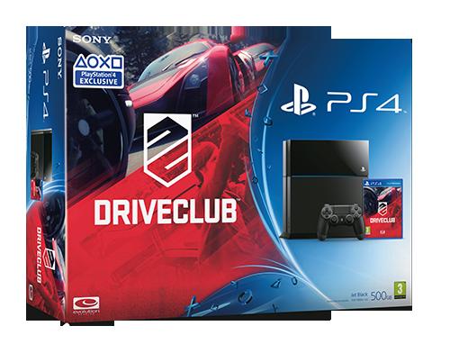 Driveclub: Sony annuncia il bundle con PlayStation 4