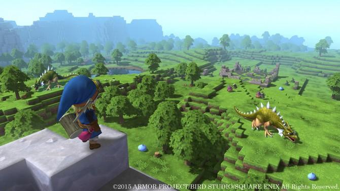 Annunciato Dragon Quest Builders: la saga Square-Enix incontra Minecraft