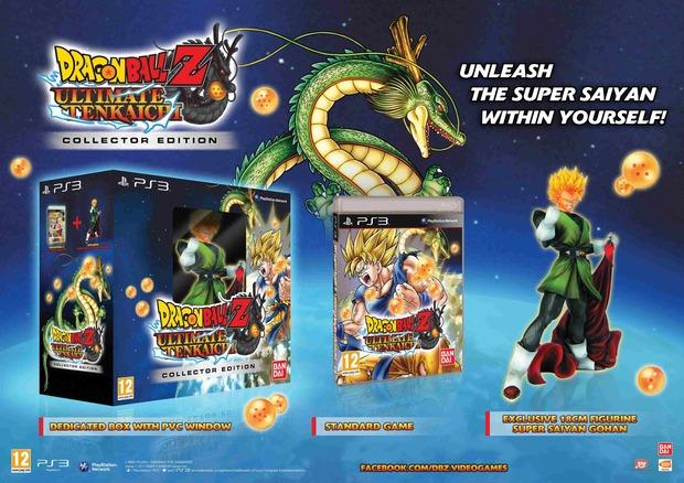 Dragon Ball Z Ultimate Tenkaichi: annunciata una Limited Edition