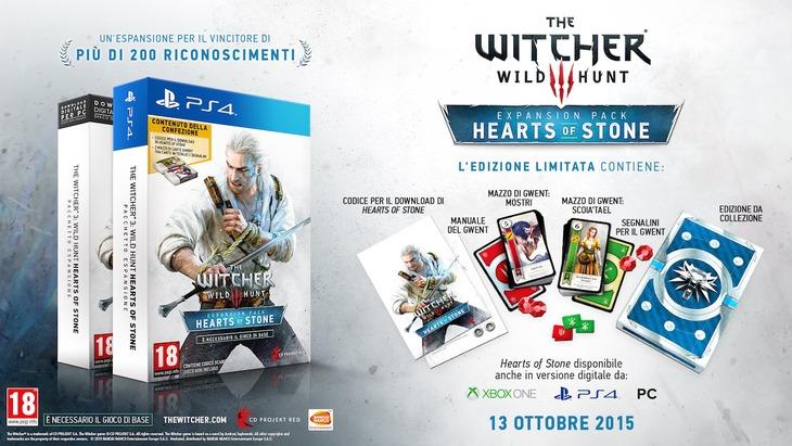 [Aggiornata] The Witcher 3: l'espansione Hearts of Stone arriva il 13 ottobre insieme a due mazzi di carte Gwent