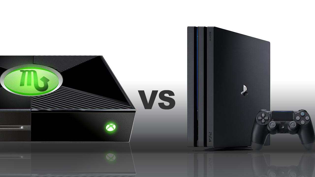 ps4 pro vs xbox one x quali sono le differenze. Black Bedroom Furniture Sets. Home Design Ideas