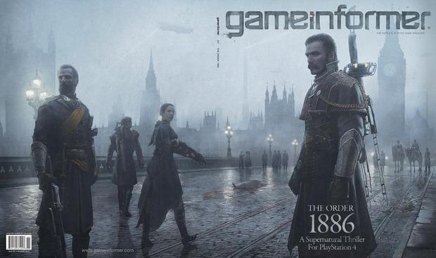 The Order 1886 appare sul Game Informer di Novembre