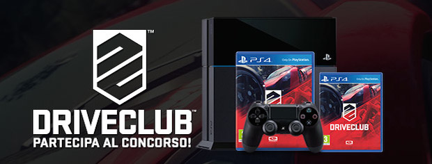 Vinci una Playstation 4 con Driveclub - Notizia