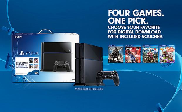 PlayStation 4: nuovo bundle natalizio per gli Stati Uniti