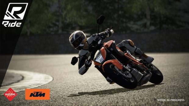 RIDE: nuovi screenshot mostrano i modelli KTM