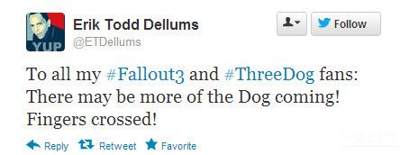 Fallout 4: il doppiatore di Three Dog dice di tenere le dita incrociate!