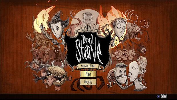 Don't Starve: screenshot della versione console