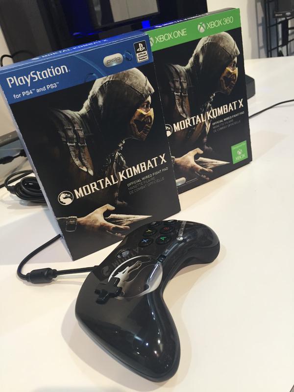 Mortal Kombat X: PDP annuncia un controller dedicato al gioco