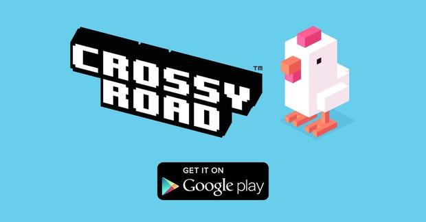 Crossy Road disponibile anche su Google Play
