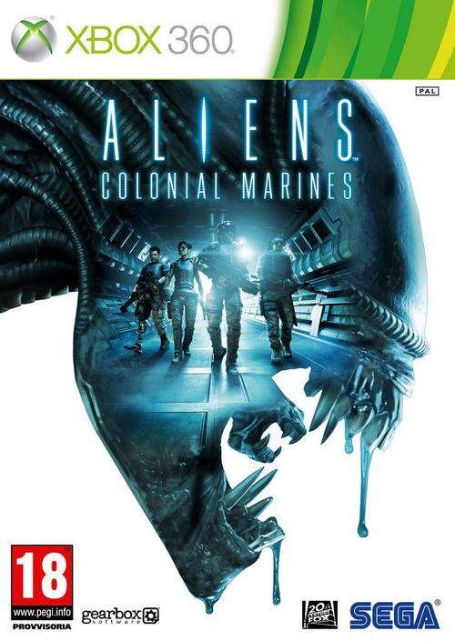 Aliens: Colonial Marines: la box art ufficiale