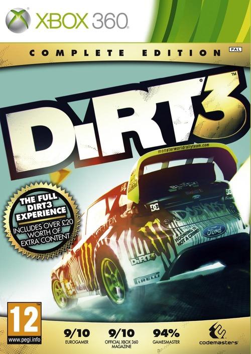 DiRT 3: Codemasters conferma la 'Complete Edition'