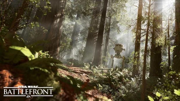 Nuovo screenshot di Star Wars Battlefront con protagonista un AT-ST