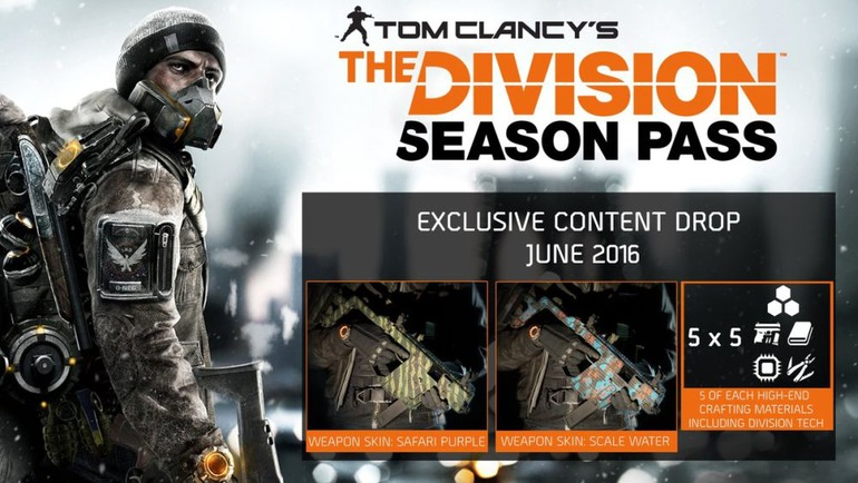 The Division: Disponibili i contenuti Season Pass di Giugno