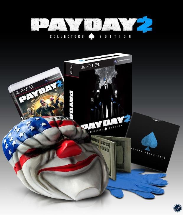 Payday 2: mostrata la Collector's Edition e rilasciato un nuovo video