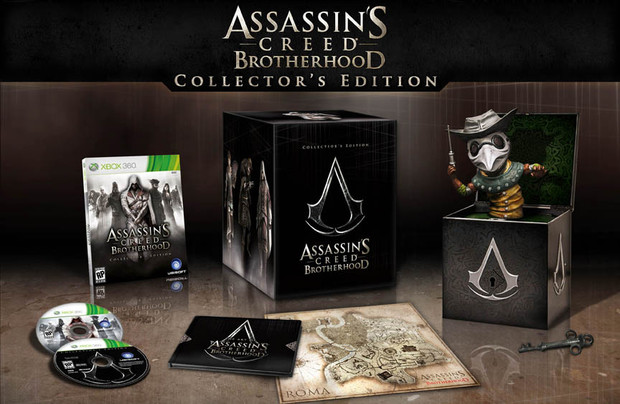 Annunciate le Collector's Edition USA di Assassin's Creed: Brotherhood