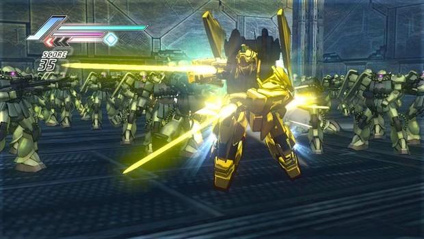 Dynasty Warriors: Gundam 3, la prima immagine mostra il nuovo stile grafico