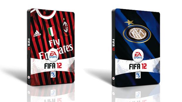 Electronic Arts presenta le nuove Steel box da collezione per FIFA 12