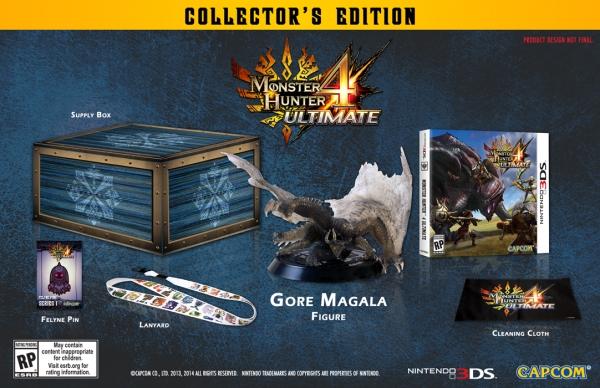 Monster Hunter 4 Ultimate: limited edition per il mercato americano