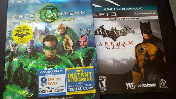 Batman Arkham City: presente anche una skin dedicata alla Sinestro Corps