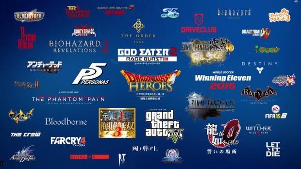 PlayStation 4: un trailer mostra i principali giochi in uscita